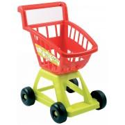 Écoiffier cărucior pentru cumpărături pentru copii 100% Chef 1226 verde-roşu