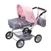 Zapf Creation 821343 - Carrozzina per bambole con accessori Deluxe Baby born