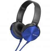 Casti Sony MDR-XB450APL Extra Bass Blue