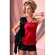 Fireopal bluzka (czerwono-czarny)