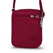 Pacsafe Citysafe CS75 Anti Theft Cross Body Travel Bag Cranberry