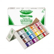 Markers Classpack, Original, 16 Colors,Conical Tip, 256/BX, Sold as 1 Box
