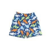 【50%OFF】SwimDiaper プリント サーフパンツ シャークリーフ 6m ベビー用品 > 衣服~~ベビー服