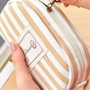 lápis lona yl080 marinha vento bonito papelaria sacos personalizados listras