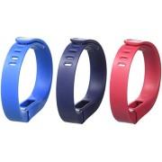 Fitbit Flex Classic - Juego de 3 pulseras de repuesto, Bluetooth 4.0, USB, azul y azul marino