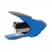 Tűzőgép, 24/6, 20 lap, könnyített tűzés, lapos tűzés, REXEL EasyTouch 20, kék-szürke