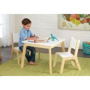 Modern asztal és 2 szék szett, Kidkraft
