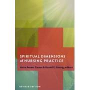 Spiritual Dimensions of Nursing Practice by Verna Benner Carson