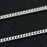 Corrente de Prata 925 Grumet 50cm / 2mm