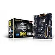 Gigabyte GA-X99-UD3 S.2011 Scheda Madre, 4 x DDR 4, Nero