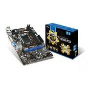 MSI H81M-P33 Carte mère Intel micro ATX Socket 1150