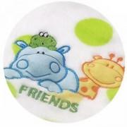 Бебешко микрофибърно одеяло с жираф, 1402 04 Babyono, 0160015