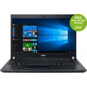 "Laptop Acer TravelMate TMP648 (Procesor Intel® Core™ i5-6200U (3M Cache, up to 2.80 GHz), Skylake, 14""FHD, 8GB, 1TB + 128GB SSD, Intel HD Graphics 520, Wireless AC, Tastatura iluminata, FPR, Win10 Pro 64)"