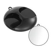 Original Best Buy Kruhové zrcadlo Original Best Buy Luna 28 cm - černé (0130841-02)
