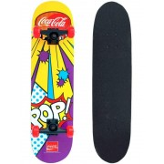 Skate Skateboard Coca-Cola Pop Shape 78x20 ABEC-5 - 145800