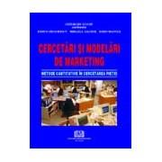 Cercetări şi modelări de marketing - Metode cantitative în cercetarea pieţei.