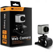 WEBCAM, Canyon CNE-CWC2, 2.0MP, 720P HD, 360° rotary view scope