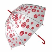 Umbrela transparenta in forma de dom-Kisses