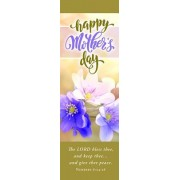 Mother's Day Bookmark - Happy Mother's Day Bookmark - Num 6: 24-26