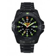 UZI Defender Stainless Steel Watch Black UZI-32-BSS