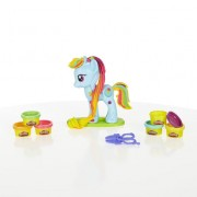 SET PLASTILINA PLAY-DOH - SALONUL LUI RAINDOW DASH - HASBRO B0011
