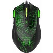 Mouse Gaming Newmen G364 Negru-Verde