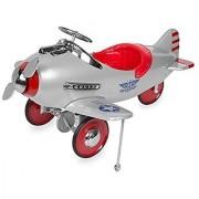 Silver Pursuit Pedal Plane