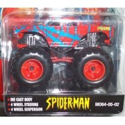 Muscle Machines Spider-Man Die Cast Car 1:64 Scale