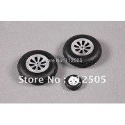 Generic FMS 1400mm / 1.4m P-51D P51 Mustang Tire set SU133 RC Airplane Model Plane Parts