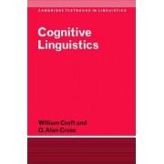 Cognitive Linguistics by William A. Croft