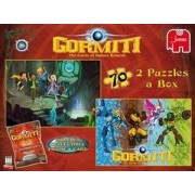 Gormiti Duo Puzzle - 2 x 70 Piece Jigsaw Puzzles in a Box by Jumbo Games