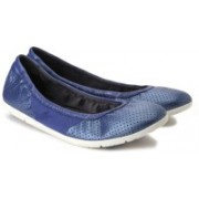 Clarks Illya Shine Bellies(Blue)