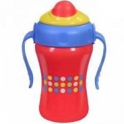 Детска Чаша със сламка Brafree 280мл. - 1037 Babyono - 3 Налични цвята, 8990019