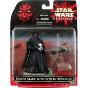 Star Wars - Episode 1 Trophy Asst. - Darth Maul - w/ Mini Sith Infiltrator