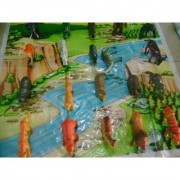 20 Wild Forest Animals Plastic Toys For Boys and Girls