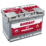 Rombat EFB baterie auto 12V - 75 Ah 730A LB4 Start Stop