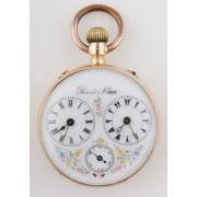 Zlaté kapesní hodinky Brevet
