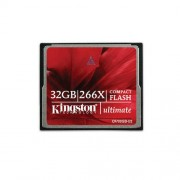 Card Kingston Compact Flash Ultimate 266x 32GB CF/32GB-U2