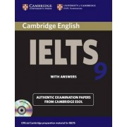 Cambridge IELTS 9 Self-study Pack (student's Book with Answers and Audio CDs (2)) by Cambridge ESOL