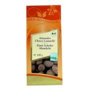 Migdale bio in ciocolata cu scortisoara