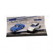 Minichamps 402902010 Set 20 Years Porsche 911 Silver & K. Ghia Blue Auto Stradali Scala 1/43