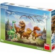 Puzzle - Dinozaurul Arlo si prietenii 66 piese