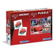 Clementoni 79025 - Puzzle Cars e Memo, 60 Pezzi