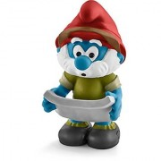Schleich North America Jungle Papa Smurf Toy Figure