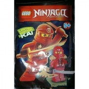 LEGO Ninjago Minifigure - Kai Rebooted Techno Limited Edition with Weapons (891501)
