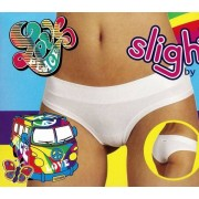 Emy 3 Slip short donna Emy, cotone vita bassa con elastico tubolare
