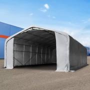 Profizelt24 Lagerzelt 6x12m PVC grau Unterstand, Lager