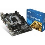 Placa de baza MSI H110M PRO-VD Socket 1151