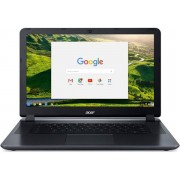 "Laptop Acer Chromebook CB3-532 (Procesor Intel® Celeron® N3160 (2M Cache, up to 2.24 GHz), Braswell, 15.6""FHD, 4GB, 32GB eMMC, Intel® HD Graphics 400, Wireless AC, Chrome OS, Negru) + Geanta Laptop Targus TAR300 15.6"" (Neagra)"