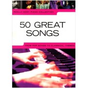 Wise Publications 50 great songs: from pop songs to classical themes (Really easy piano)